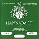 Hannabach 652367 Série 800 Cordes pour Guitare Classique Low Tension Argenté