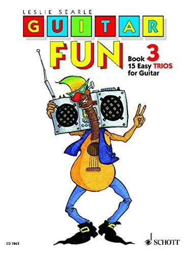 Guitar Fun: 15 leichte Trios. Vol. 3. 3 Gitarren. Spielpartitur. -