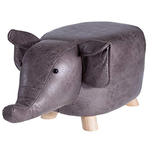 Howa Sitztier Polsterhocker Tierhocker für Kinder Elefant 8630