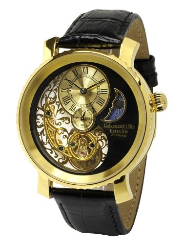 Calvaneo - Calvaneo Estaville Gold Automatic Complication - Mixte - Noir
