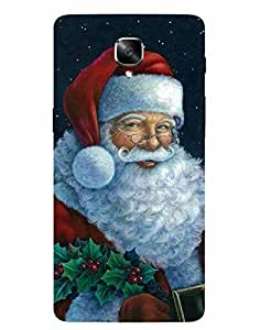 Aart Christmas themes Designer Luxurious Back Covers for OnePlus 3