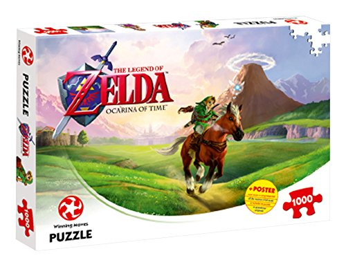 Winning Moves Legend of Zelda Ocarina of Time 1000 Stück Puzzle