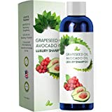 Hair Growth Shampoo For Women and Men With 100% Pure Avocado & Grape