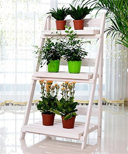 Zhanwei scaffale fioriera di legno solido flower pot for Fioriera a scala