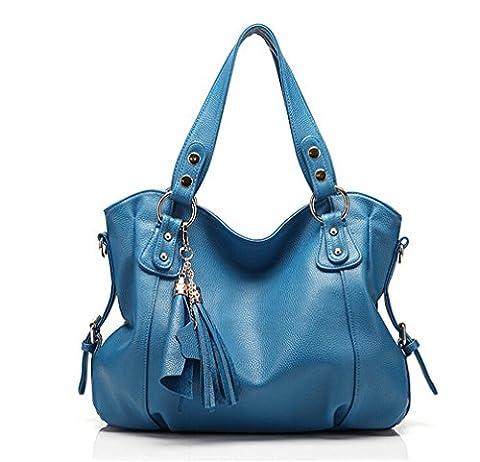 TianHengYi , Sac femme - Bleu - bleu, Large