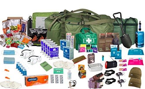 "100L Assault ""Bug Out Bag Borsa per 2persone colore: verde oliva"