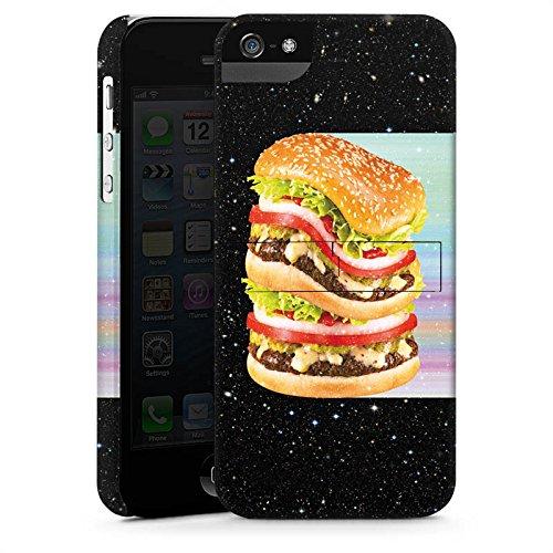 Apple iPhone X Silikon Hülle Case Schutzhülle Burger Fleisch Fast Food Premium Case StandUp