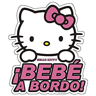 Hello Kitty KIT3010 Adhesivo Cristal Bebe A Bordo (B00KSFJPJO) | Amazon price tracker / tracking, Amazon price history charts, Amazon price watches, Amazon price drop alerts