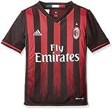 low cost 30d63 c8578 adidas H JSY Y Camiseta 1ª Equipación AC Milán 201516, Niños, Negro