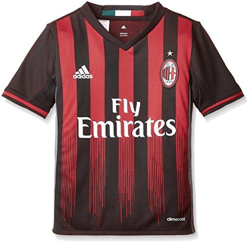 Milan maglia away replica 2016-17 - nero (nero/rosso ) - 176