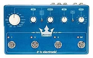 Effets guitare électrique TC Electronic FLASHBACK TRIPLE DELAY Reverb - delay