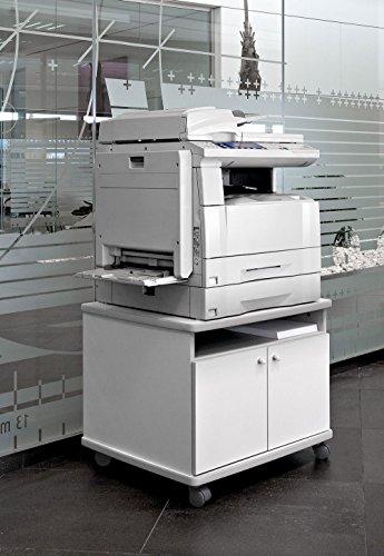 Mesa fotocopiadora Impresora ber-copian60 Blanco Roto