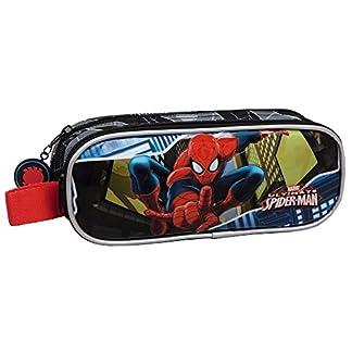 Marvel Spiderman Neceser de Viaje, 1.45 litros, Color Azul