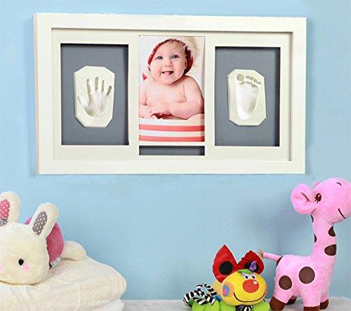 benail Babyprints recién nacido bebé Handprint y huella escritorio marco de fotos 16inch (precio: 14,77€)