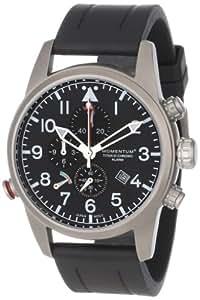 Momentum Herren-Armbanduhr XL TITAN III Analog Quarz Kautschuk 1M-SP32B1B