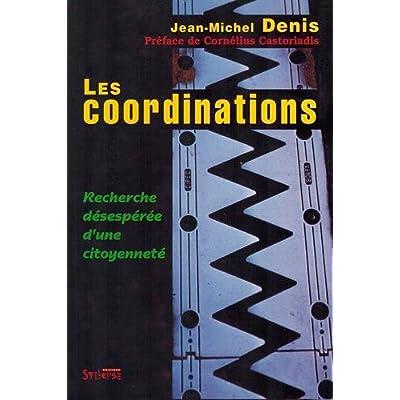 Les coordinations