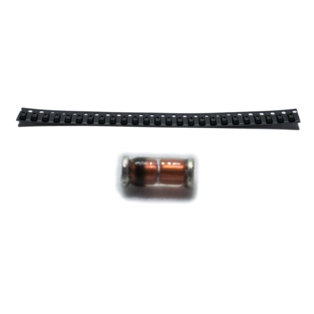 50x SMDMM0204-300K Resistor thin film SMD 0204 minimelf 300k? 0.4W ±1%