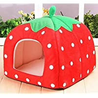 Jdon-pet, Pet Strawberry Waterloo (Specification : Red Size L)