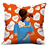 Best Fathers Day Gifts - Indibni I Love You Daddy Cushion Cover With Review