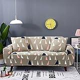 SSDLRSF Grün Hintergrund Möbel Protector Sofa Stretch Dicht Wrap All-inclusive rutschfeste Sofa Covers für Wohnzimmer 1pc (145-185 cm), Farbe 7, Einsitzer