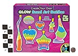 Childrens Bottle Glow Sand Art Set Make Your Own Activity Craft Kit