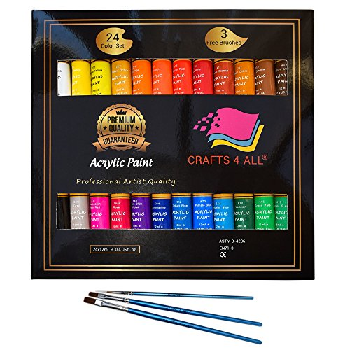 Acrylic Crafts Crafts Non Colors Rich Pigments