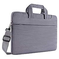 db5e24feff MOSISO Portatile Spalla Borsa Compatibile 15-15,6 Pollici MacBook PRO,Notebook  Laptop,Denim Tessuto Ultraportatile Protettivo Borsa a Tracolla Portando ...