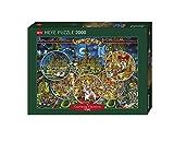 Heye 29407 - Scena del Crimine Puzzle 2000 Pezzi, Multicolore