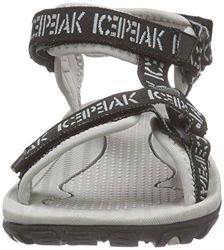 Ice Peak Wesley, Sandales de Randonnée homme Noir - Schwarz (990 black)