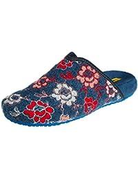 NORDIKAS Free, Zapatillas de Estar por casa con talón Abierto para Mujer