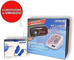 Omron M3 Comfort – Medidor de presión de brazo digital + Fuente de alimentación ...