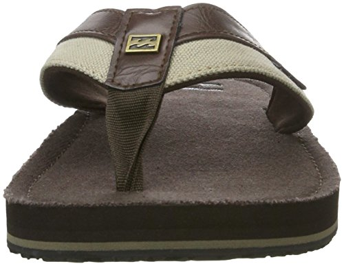 G.S.M. Europe - Billabong Herren Seaway Canvas Dusch-& Badeschuhe Braun (Chocolate)
