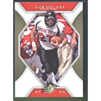 2010 Upper Deck SPx Football Card # 47 Wes Welker - Red Raiders / New England Patriots (NFL Trading Card)