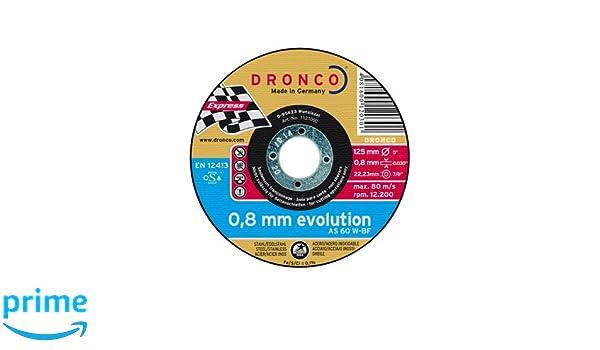 Evoluzione-latta sigillato 10 unit/à Dronco AS60W-125x0,8