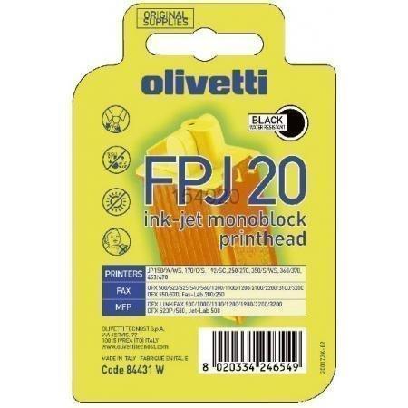 Preisvergleich Produktbild Olivetti Tintenpatrone/84431 schwarz JP 150(WS)/350(S) (B0384)