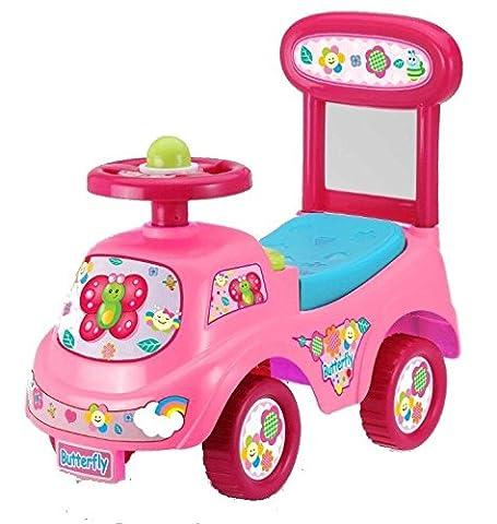 Rutschauto in 9 verschiedenen Modellen - Ein guter und preiswerter Aufsitzwagen Rutschwagen Lauflernwagen Kinderfahrzeug , Modell:Butterfly