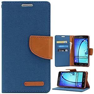 Online Street Royal Diary Flip Cover For Xiaomi Mi4i - (Pink Blue)