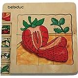 Beleduc 17040 - Lagen - Puzzle Erdbeere