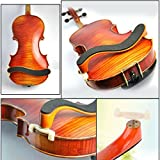 MagiDeal Verstellbarer Geige Schulterstütze aus Holz Gepolsterter für 3/4 & 4/4 Geige Violin