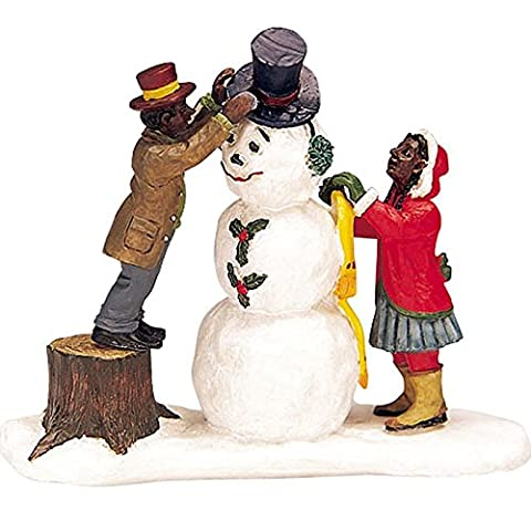 Lemax - Dressing Mr. Snowman