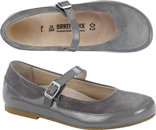 Birkenstock Damen Lismore Mary Jane Halbschuhe Grau (Grey)