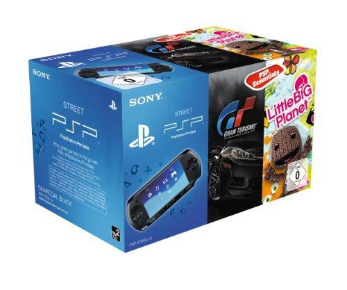 Sony PSP E1000 inklusive Gran Turismo Essentials + Little Big Planet Essentials (E1000 Psp Spiele)