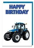 Geburtstagskarte–Landwirtschaft Traktor Motto–Dad–Mann–Brother–Sohn–Grandad–Boyfriend