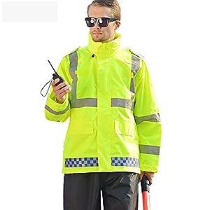 ZHFC-BTR reflektierender Leuchtgurt oder Sicherheitsweste für hohe Sichtbarkeitreflektierende wintermantel jacke sicherheit jacke dicker arbeitskleidung highway - männlichen - mantel