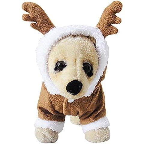 TANG imp Cucciolo Cane Teddy Natale Jumpsuit