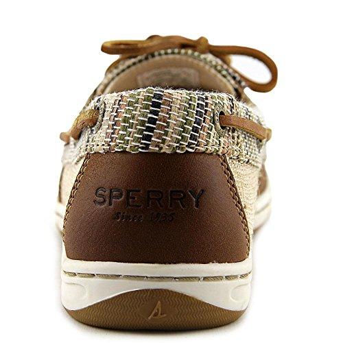 Sperry Top-Sider Firefish Animal Leather Fabric, Sneaker donna beige Beige Beige