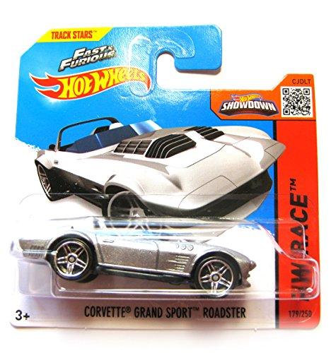 Hot Wheels Chevrolet Corvette Grand Sport Roadster silber 179/250 1:64 1 64 Diecast Corvette