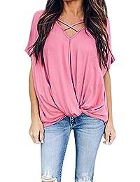 c9b564125 Damark(TM))))))))))))) Ropa Camiseta sin Mangas Tank Tops para Mujeres