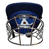 #4: ROXAN NEW BLUE HELMET FOR YOUTH / MAN WITH STEEL GRILL/CRICKET BLUE HELMET/ ODI & TEST MATCH CRICKET HELMET/FULL FACE COVER BLUE HELMET