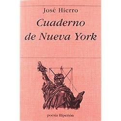 Cuaderno de Nueva York (Poesía Hiperión) Premio Nacional de Poesía 1999